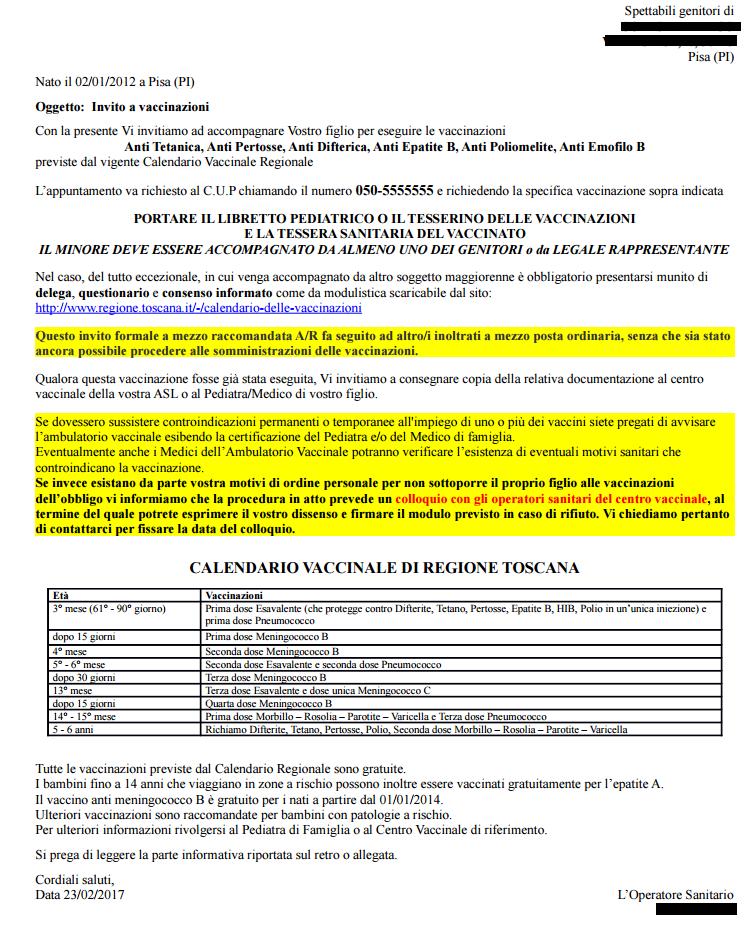 Calendario Delle Vaccinazioni.Gestione Inviti E Verifiche Elenchi Scolastici Manuali